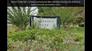 Barron s Trailer Park | Auburn, AL | Trailer Park