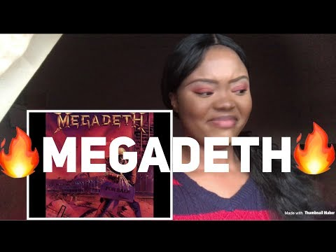 Megadeth Peace Sells but Who's Buying? REACTION!! OMG!!!