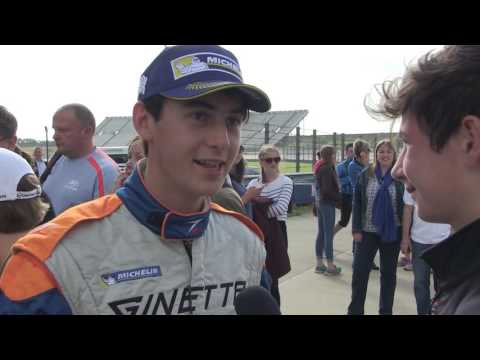 SEB PEREZ - GINETTA JUNIOR - ROCKINGHAM 2016