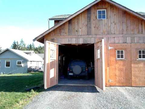 Automatic Carriage Garage Door Opener Youtube
