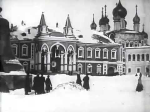 Москва зимой 1907-08 года.  1907-08 Moscow winter year.