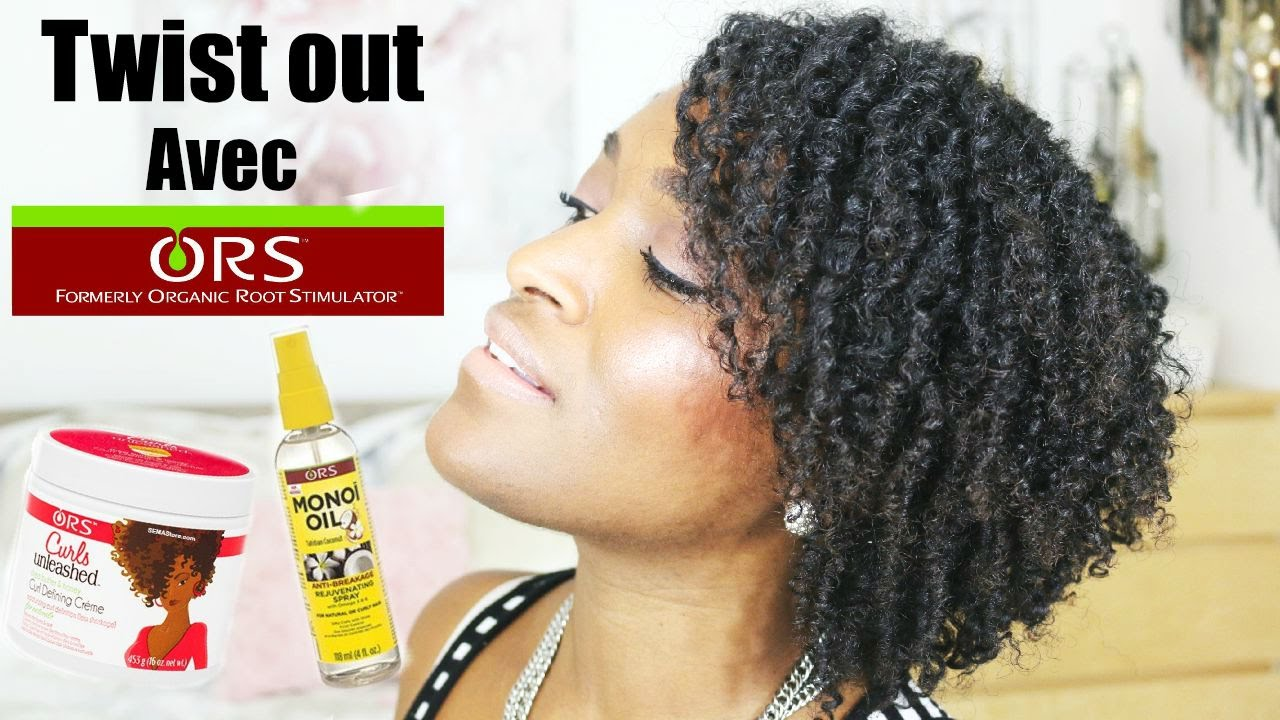 Twist Out Avec O R S Curls Unleashed Curl Defining Creme