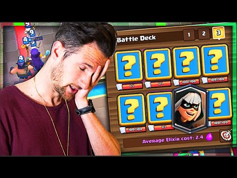 YOU CHOOSE MY DECK! • Fun Clash Royale Deck