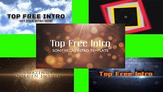 "Top 5 Intro Template ""Sony Vegas Pro 14"", 13, 12 Free Download"