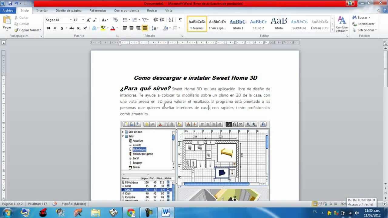 Como Descargar E Instalar My Sweet Home 3d Para Win7