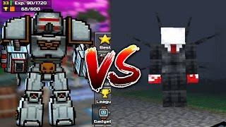 PIXEL GUN 3D - BATTLE MECH VS EVIL SLENDERMAN