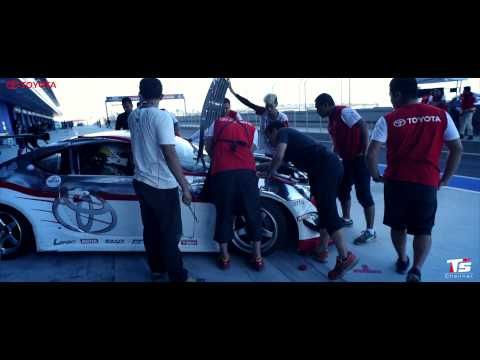 Toyota Team Thailand at Chang International Circuit 2014 By TSChannel