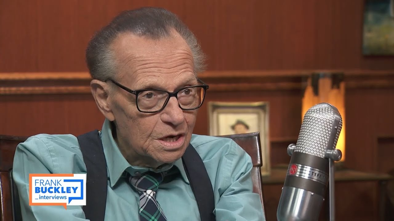 Larry King Reveals He Considered Ending His Life After A Recent Stroke Frank Buckley Interviews Youtube