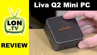 Liva Q2 Review - Tiny Mini PC !