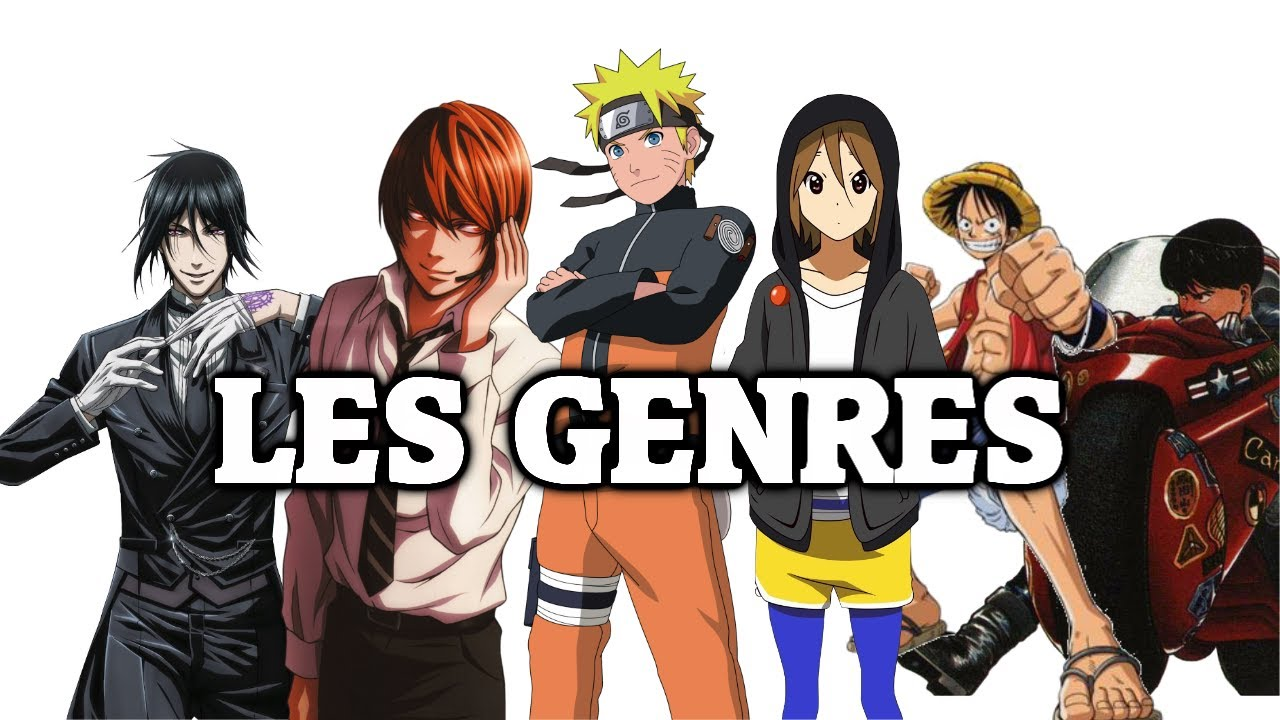 Les différents genres de manga youtube