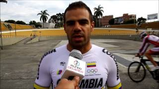Revista Mundo Ciclistico: Entrevista con Leonardo Narváez Uci track cycling world championships 2014