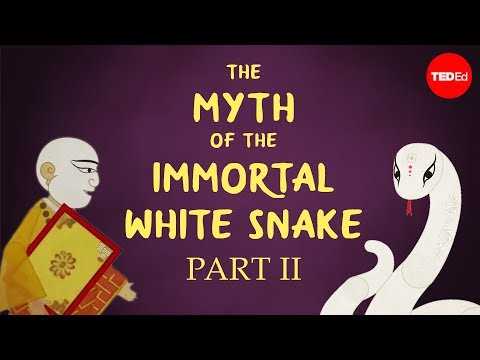 The Chinese myth of the white snake and the meddling monk - Shunan Teng