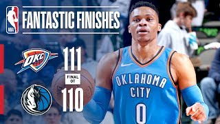 The Thunder and Mavericks Engage in an OT Nail-Biter! | February 28, 2018