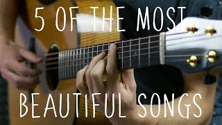 5 of the Most Beautiful Songs in the World - Fingerstyle Guitar screenshot 2