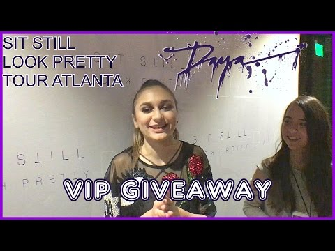 Daya  Sit Still Look Pretty Tour Atlanta  VIP Giveaway Closed