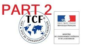 préparer pour le TCF #SO #DAP 2018/2019