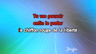 Karaoké Le chiffon rouge - Michel Fugain *