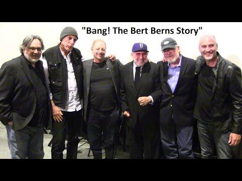 "Pop hit-makers' reunite to tell ""Bang! The Bert Berns Story"" stories at L.A. premiere-run"
