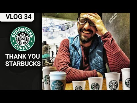 STARBUCKS GAVE ME THEIR COSTLIEST COFFEE FOR FREE | PERKS OF BEING AN YOUTUBER | Vlog 34 | FOOD VLOG