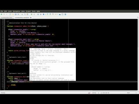 Drupal 7 Module Development Part 4 - Cron and sending email - Daily Dose of Drupal Episode 19