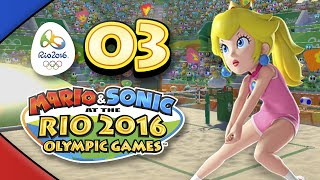 Mario and Sonic at the Rio 2016 Olympic Games for Wii U: Part 03 - Beach Volleyball (4-Player)
