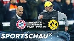 DFB-Pokal-Halbfinale 2015  FC Bayern gegen BVB | Sportschau