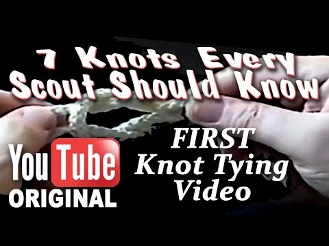 7 Knots Every Scout Should Know - Tying Scouting knot