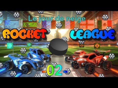 (02) Rocket League : Online {3v3 Jour de Neige }