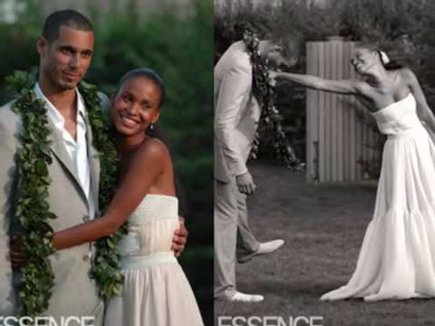 Chocolate Weddings: Joy Bryant & Dave Pope