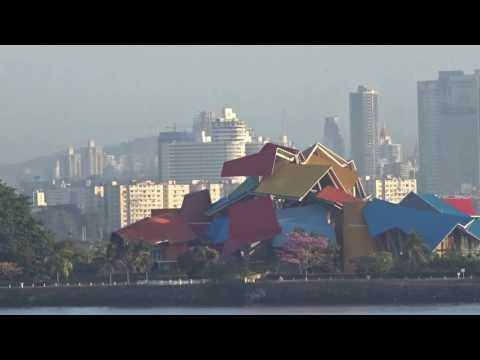Panama Canal Panama City & Biodiversity Museum - Biomuseo Ciudad de Panama Canal de Panama