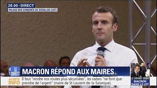 Le sujet de limmigration ne doit pas être un tabou, Macron répond à la maire de Montauban