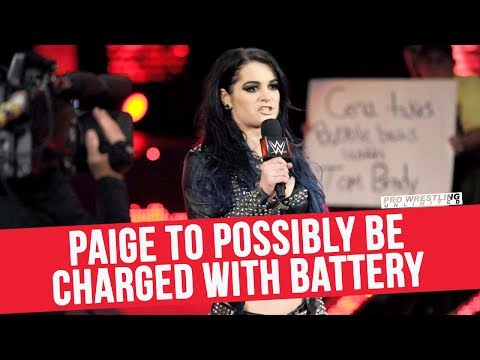 Paige To Possibly Be Charged With Battery