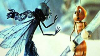 Стрекоза и муравей. Крылов И.А. Автор фильма  Биневская Т. Н.