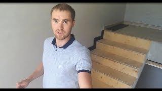 Как подготовить бетонную лестницу к отделке деревом