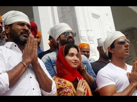 Devi crew visits Golden Temple Amritsar |...