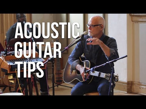 Acoustic Guitar Tips ft. Lenny LeBlanc | Worship Band Workshop