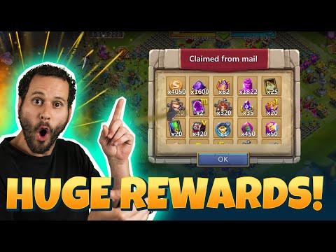 Biggest Purchase In Castle Clash CRAZY Rewards