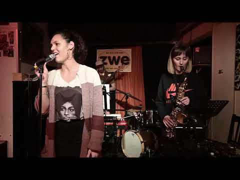 Eva Moreno's Groove Roots - Morning and Allison (Nate Smith Cover) live at ZWE, Vienna Jan 25, 2020