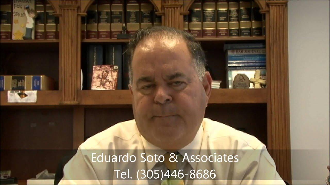 Cuéntenos su Caso de Inmigración # 8, con Eduardo Soto - YouTube