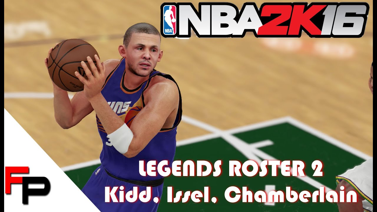 NBA 2K16 How to Create Jason Kidd Dan Issel & Young Wilt