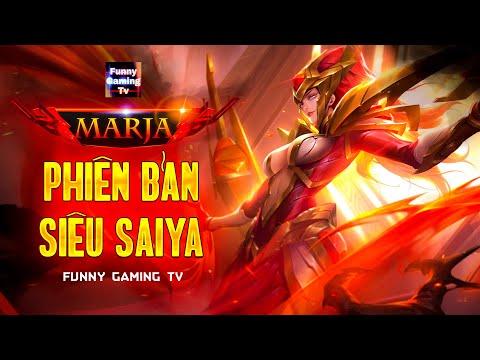 LIÊN QUÂN | Lần đầu tiên vị tướng pháp sư Marja xuất hiện tại kênh FUNNY GAMING TV