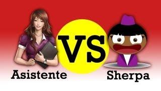 Asistente vs Sherpa (Asistentes de Voz para Android)