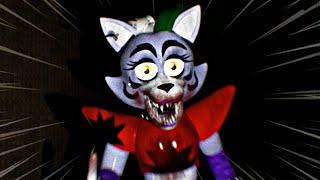 ROXANNE THE WOLF se UNE a la FIESTA !! - Nothing Here (FNAF Game)