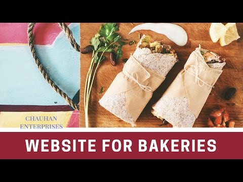 Free.com Domain Bakery Theme Website template sample, Responsive Designs By Chauhan Enterprises