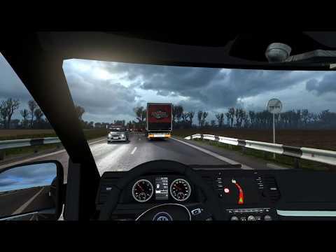Euro Truck Simulator 2 / Везу пассажиров из Невинномысск в Краснодар / Volkswagen Crafter MK 2
