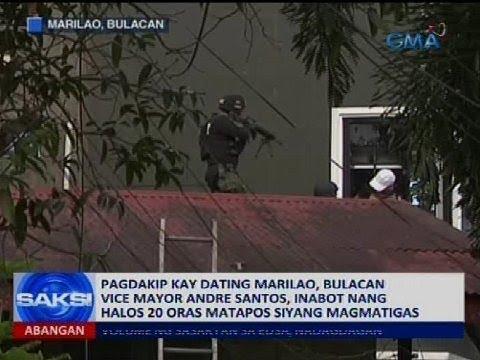 Pagdakip kay dating Marilao, Bulacan vice mayor Andre Santos, inabot nang halos 20 oras
