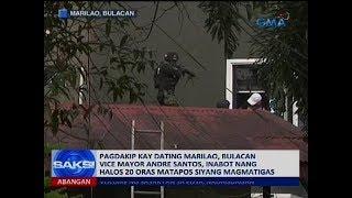 Hawak na ngayon ng Bulacan police ang dating vice mayor ng Marilao,...