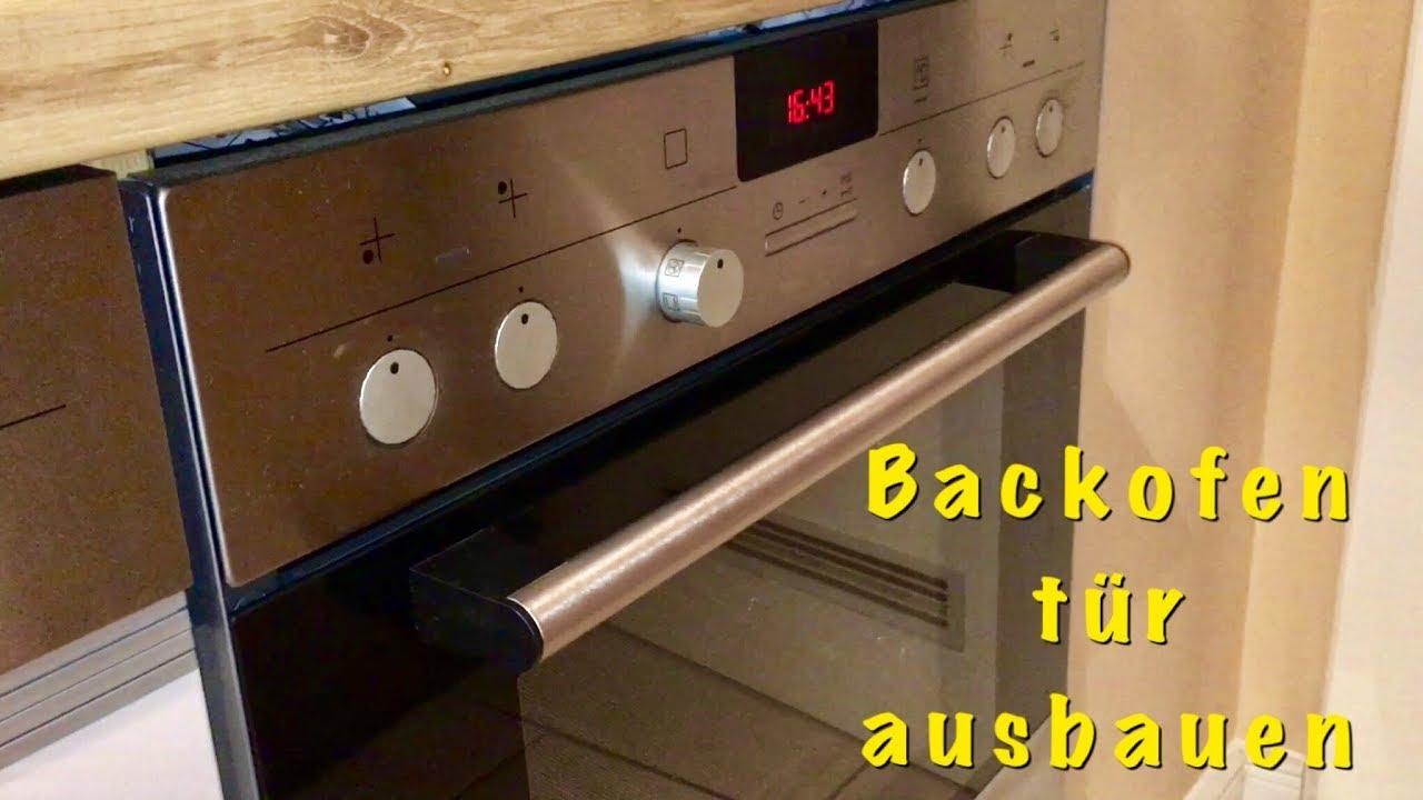 Amica Kühlschrank Tür Wechseln : Backofentür ausbauen aushängen und reinigen youtube
