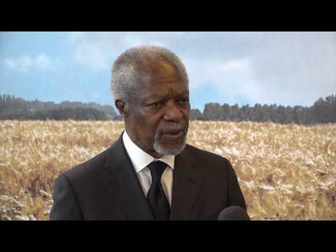 FFA2017 interview Kofi Annan