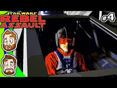 Star Wars: Rebel Assault - PART 4: Tattooine Attack | CHAD & RUSS |